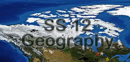 SS12 - Physical Geography