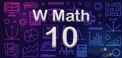 Math 10 Workplace Heritage